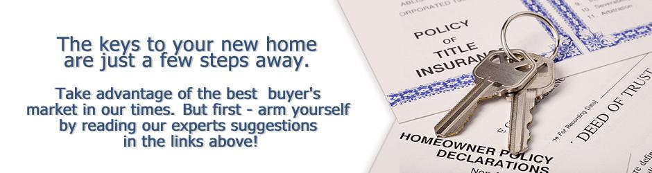 The keys to your new home and mortgage are just a few steps away