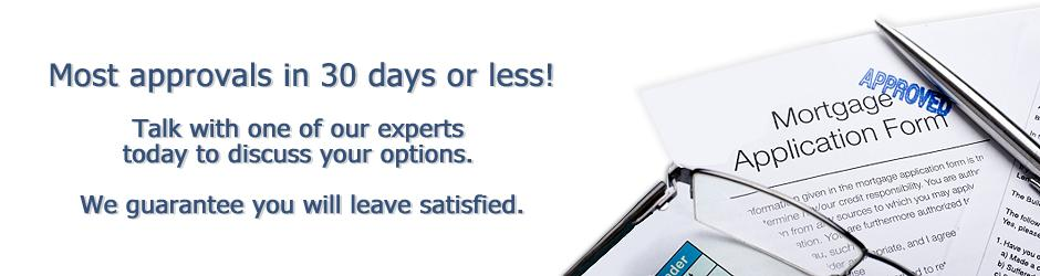 Fast Loan Approvals - in 30 days or less